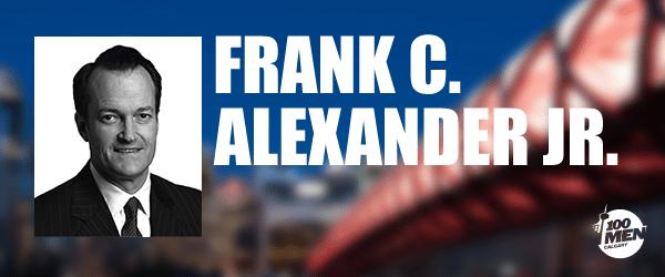 Introducing our Guest Speaker: Frank C. Alexander Jr.